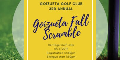4th Annual Goizueta Fall Scramble