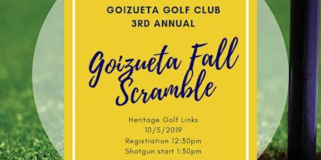 4th Annual Goizueta Fall Scramble tickets