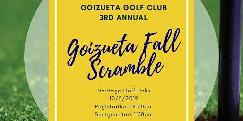 4th Annual Goizueta Fall Scramble