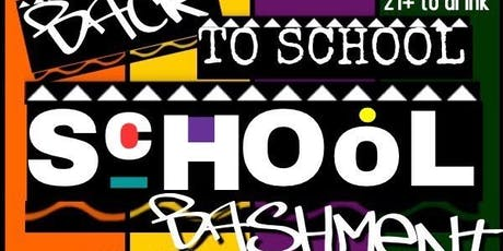 Back to School Bashment  tickets