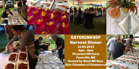2nd Annual EatDrinkSDF Harvest Dinner tickets