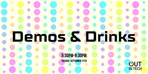 Out in Tech PDX | Demos and Drinks September 2019