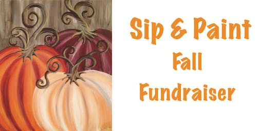 Sip and Paint Fall Fundraiser