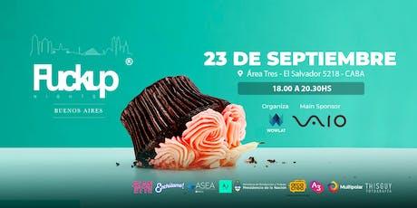 FuckUp Nights Buenos Aires Vol. 20 entradas