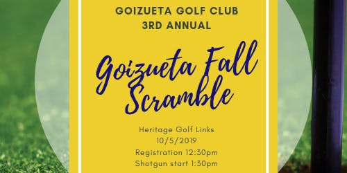 3rd Annual Goizueta Fall Scramble