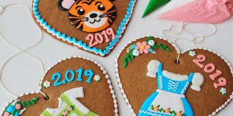 Easy Tiger Oktoberfest: Kid's Lebkuchen Cookie Decorating tickets