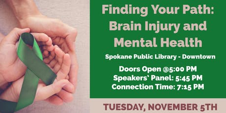 Finding Your Path: Brain Injury and Mental Health tickets