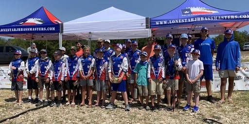 Lone Star Jr Bassmasters October 2019 Club Bass Tournament
