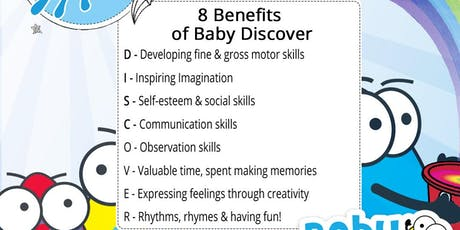 Baby Discover Autumn Term tickets