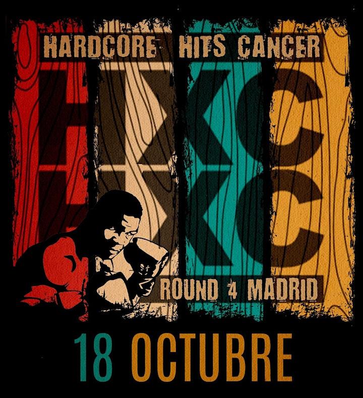 Imagen de HARDCORE HITS CANCER ROUND MADRID