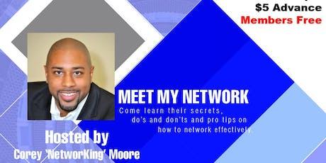 Networking Event & Workshop: Meet My Network tickets