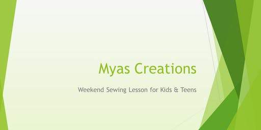 Weekend Sewing Classes for Kids & Teens