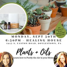 Clean the Air in Your Home: Plants + Oils Workshop tickets