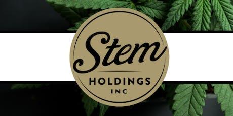 Bear Creek Capital presents Stem Holdings, Inc.-Orlando Lunch tickets