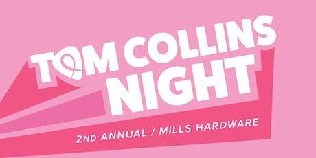 Tom Collins Night tickets