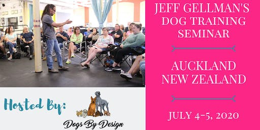 New Zealand - Jeff Gellman's 2 Day Dog Training Seminar