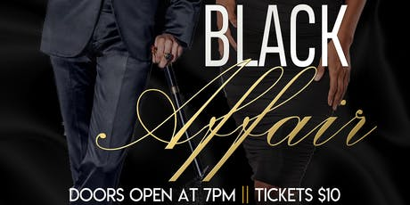The Black Affair 2019 tickets