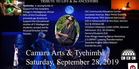 "Camara Arts & Tyehimba Present ""A Tribute to Life and the Ancestors"": 2 Performances and A free Dance Workshop! tickets"