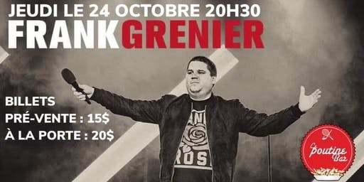 Frank Grenier humoriste