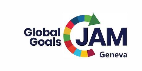 Global Goal Jam Genève : Design Thinking allié au jeu 2030 SDG Game autour des ODDs de l'ONU billets