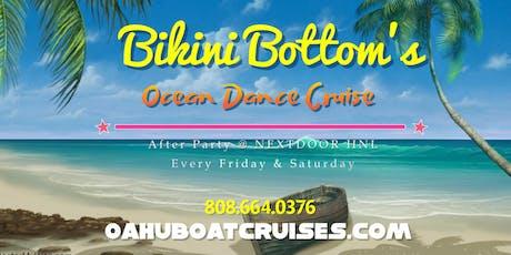 October 11th: Bikini Bottom's {Firework's Dance Cruise} tickets