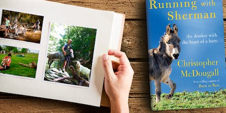 """RUN FREE LANCASTER: Chris McDougall Book Launch for """"Running with Sherman"""" tickets"""
