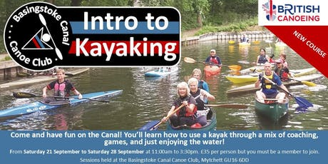 BCCC Introduction to Kayaking Course tickets