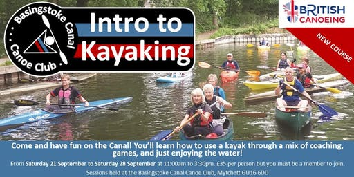 BCCC Introduction to Kayaking Course