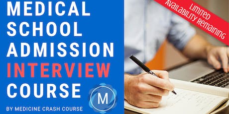 MMI Medical School Interview Course in Glasgow (2020 Entry) - Medicine Interview Preparation tickets