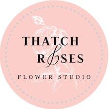Thatch & Roses Flower Studio logo