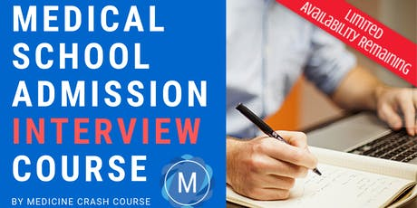 MMI Medical School Interview Course in Manchester (2020 Entry) - Medicine Interview Preparation tickets
