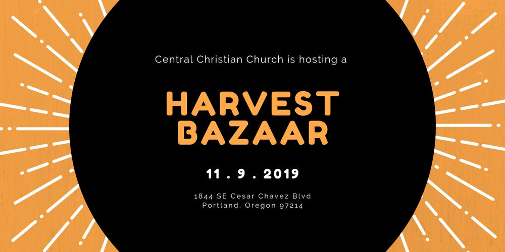 Portland Christmas Bazaar 2019.Central Christian Harvest Bazaar Tickets Sat Nov 9 2019