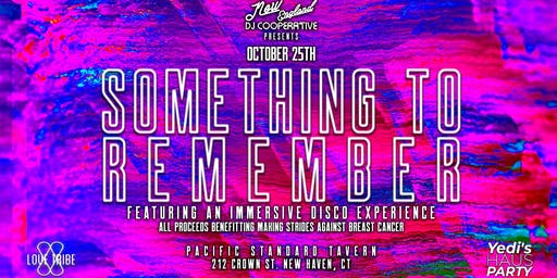 Something To Remember: An Immersive Disco Experience