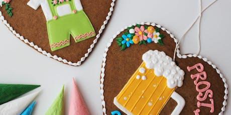 Easy Tiger Oktoberfest: Adult Lebkuchen Cookie Decorating tickets