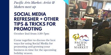 PAM Meet Up: Social Media Refresher tickets