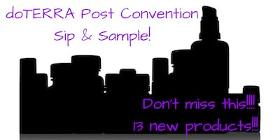 Team Essential Bliss- OC Post Convention Sip & Sample