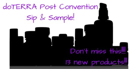 Team Essential Bliss- OC Post Convention Sip & Sample tickets