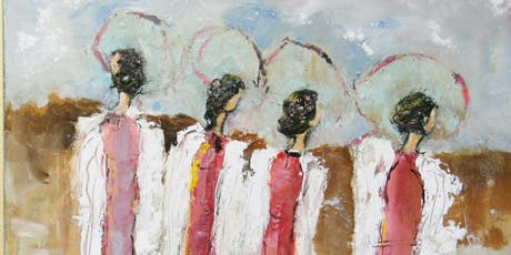 Learn to Paint Beautiful Angels on Canvas   tickets