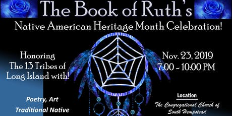 THE Book of Ruth's Native American Heritage Month Celebration tickets