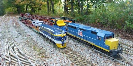 October PlayDate Northeastern Ohio Live Steamers Train Ride tickets