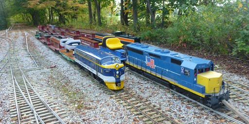 October PlayDate Northeastern Ohio Live Steamers Train Ride