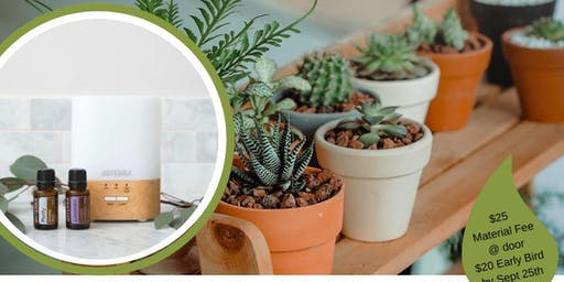 Clean the Air in Your Home: Plants + Oils Workshop