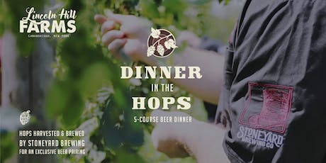 Dinner in the Hops tickets