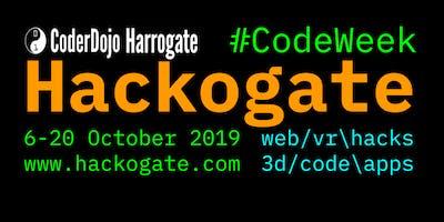 Harrogate CoderDojo Hackogate 2019 #CodeWeek