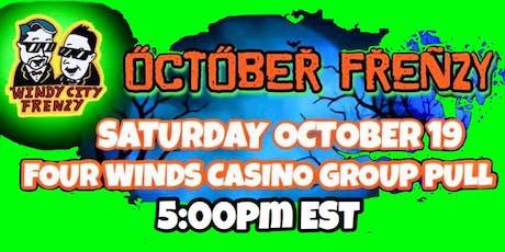 Four Winds Casino New Buffalo, Michigan   $100.00   Group Pull tickets