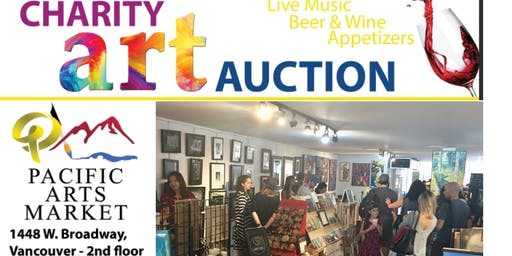Charity Art Auction at Pacific Arts Market