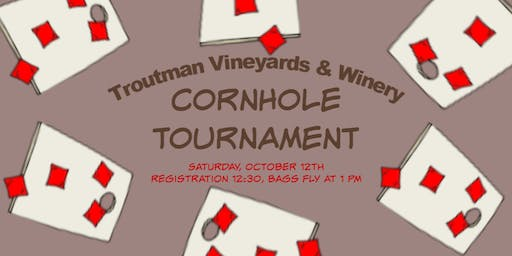 CornHole Tournament at Troutman Vineyards & Winery