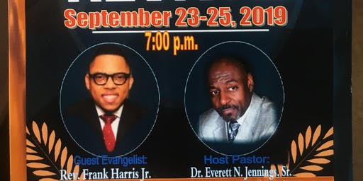 New Providence Baptist Church Fall Revival