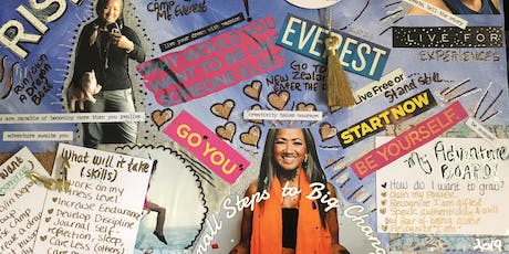 Vision Board Canvas Class (ADVENTURE) tickets