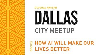 Dallas Artificial Intelligence Meetup  tickets